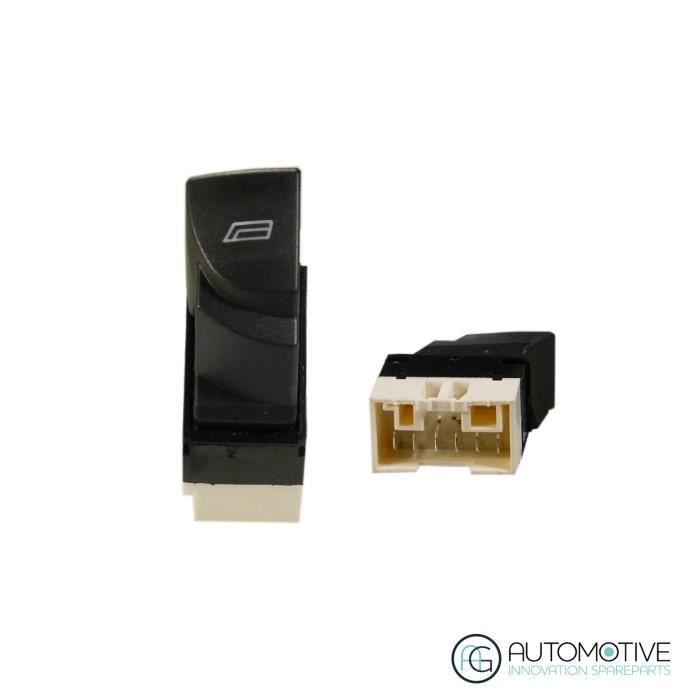 Console interrupteur de vitre dalimentation principale pour Peugeot Boxer Citroen Fiat Doblo COULEUR: noir