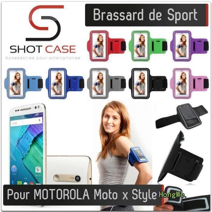 COQUE - BUMPER RongLe® Brassard Sport MOTOROLA Moto x Style (ROUG