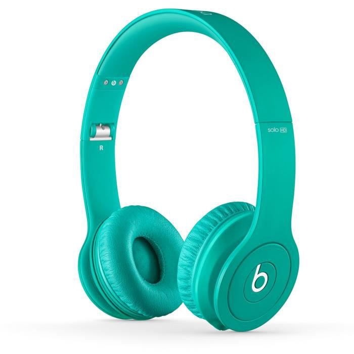 casque beats by dr dre solo hd turquoise casque couteur avis et prix pas cher cdiscount. Black Bedroom Furniture Sets. Home Design Ideas