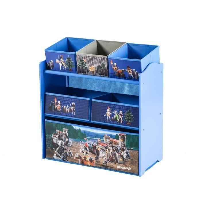 playmobil chevaliers meuble de rangement enfant tag re casiers achat vente petit. Black Bedroom Furniture Sets. Home Design Ideas