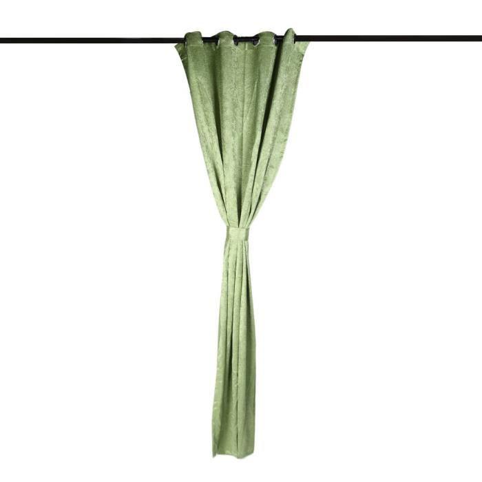 RIDEAU Rideau 52*95cm thermique isolant salon douche VERT