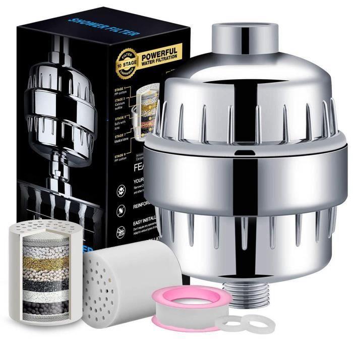 Coupe Aqua Awf SWR//ANM M anticalcaire filtre de douche Argent//m/étallique