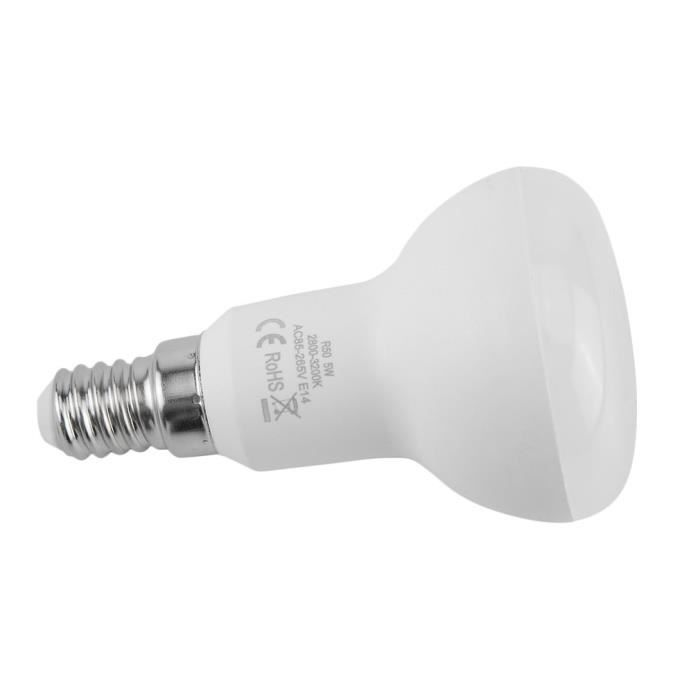 Culot Led Froid E14 5w R50 Lampe Spotlight Ampoule 4 Blanc Packs qAPf6