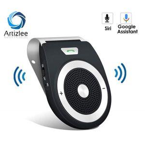 KIT BLUETOOTH TÉLÉPHONE Kit Mains Libres Voiture Bluetooth, Haut Parleur V