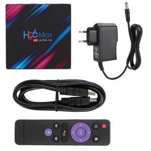 BOX MULTIMEDIA Xuyan H96 MAX 4 + 64G Dual Band WIFI + BT TV Décod