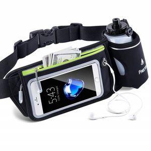 HTC U11 plus-Gym Voyage Sports Active Ceinture Sac Banane Pochette