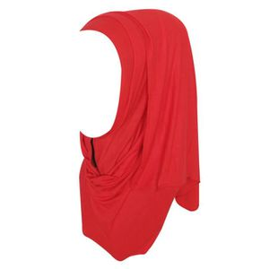 ECHARPE - FOULARD Les femmes longues en coton écharpe musulmane Hija