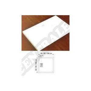 RECEVEUR DE DOUCHE Receveur ultra-plat à poser KINECOMPACT. 80x80 cm.