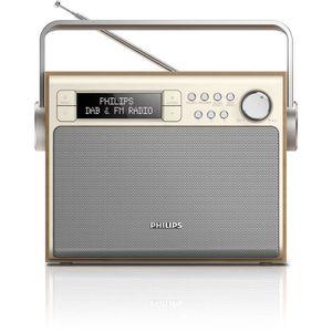 RADIO CD CASSETTE Philips AE5020 Radio Portable FM-DAB+ avec Recherc