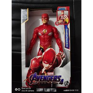 FIGURINE - PERSONNAGE AVENGERS - The Flash S 2019 - Figurine Electroniqu