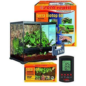 VIVARIUM - TERRARIUM SERA 32000Terra Reptile Terrarium biotop 60Un Mo