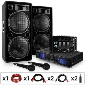 "PACK SONO Electronic-star Pack sono ""DJ-20.1"" Set disco comp"