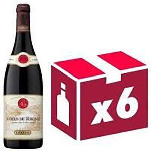 VIN ROUGE Côtes du Rhône vin rouge 6x75cl Guigal