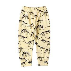 PANTALON  Pantalons Garçons Bébés Tenue Jaune Motif Animaux