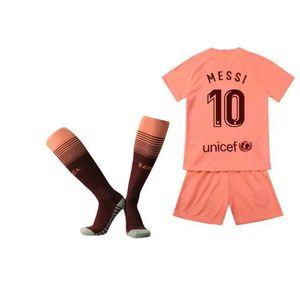 MAILLOT DE FOOTBALL  Maillot de Football Costume Barcelona MESSI NO.10