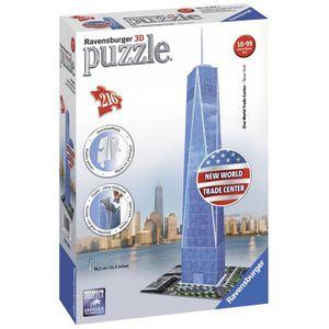 PUZZLE RAVENSBURGER Puzzle 3D World Trad Center 216 pcs