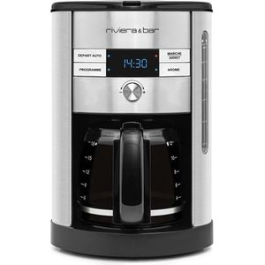 CAFETIÈRE RIVIERA&BAR CF540A Cafetière filtre programmable -