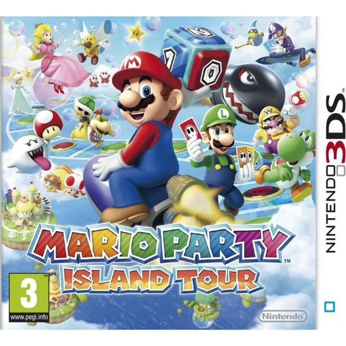 JEU 3DS Mario Party Island Tour Jeu 3DS