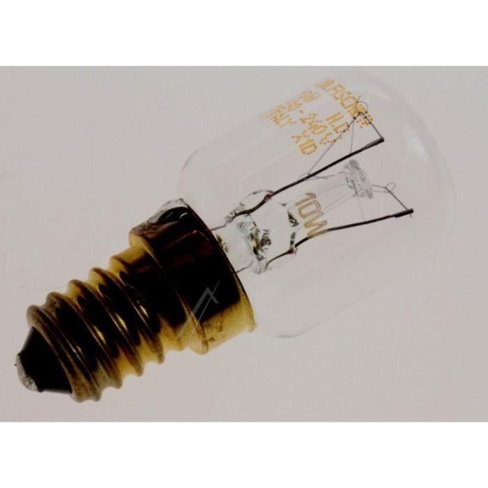 LAMPE 220-240V-10W (E14) pour réfrigérateur ARISTON C00060617 - èles d'appareils concernés: 8130984 - BVMPièces