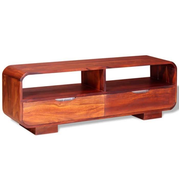 {Neuve}1387Meuble TV, Buffet Bas MEUBLE HI-FI Pour Salon Haut de gamme & Moderne - Armoire tele Table television Bois massif de Sesa