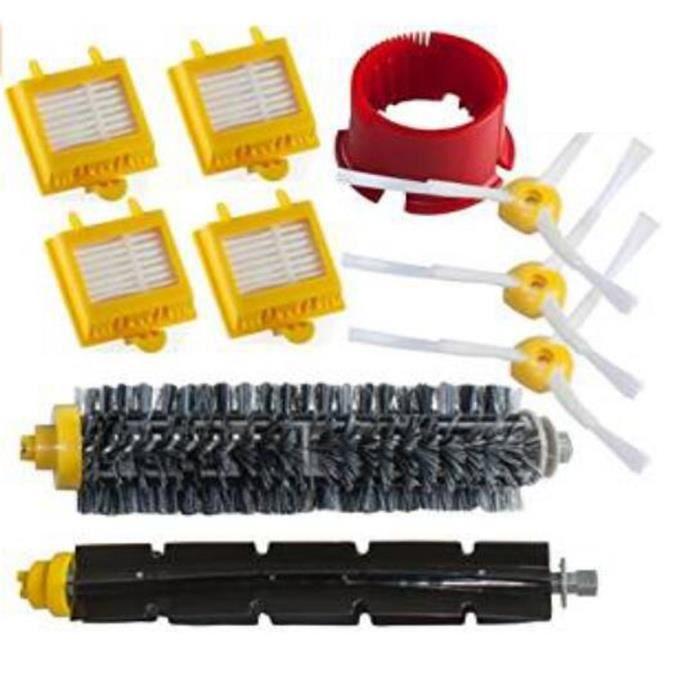 Kit d'entretien pour iRobot Roomba avec brosses et filtres - série 600 620 630 650 660