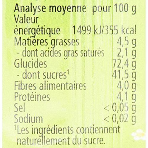 Hipp Biologique Barres Pommes Fruits Rouges et Céréales dès 12 Mois - 20 Barres de 25 g - FR31352