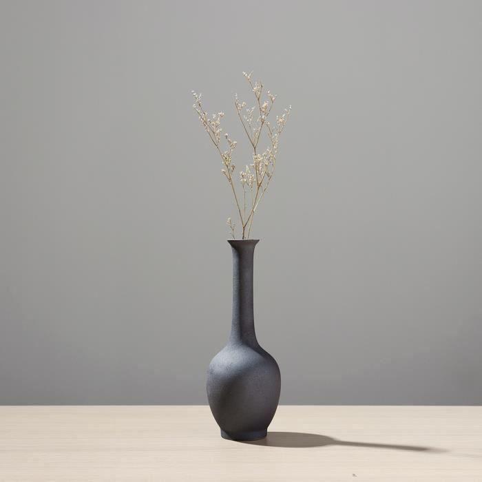 TEMPSA Vase De Fleur Céramique Décoratif Fait Main Pour Table Chambre TYPE D