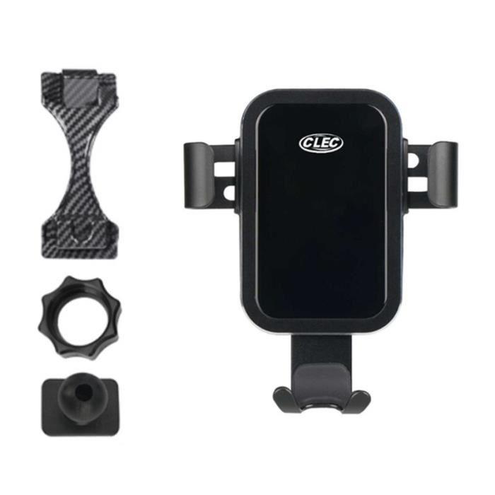 Supports voiture,Support de téléphone pour mercedes benz classe C W205 2020 2019 évent GPS support de téléphone support - Type Bleu