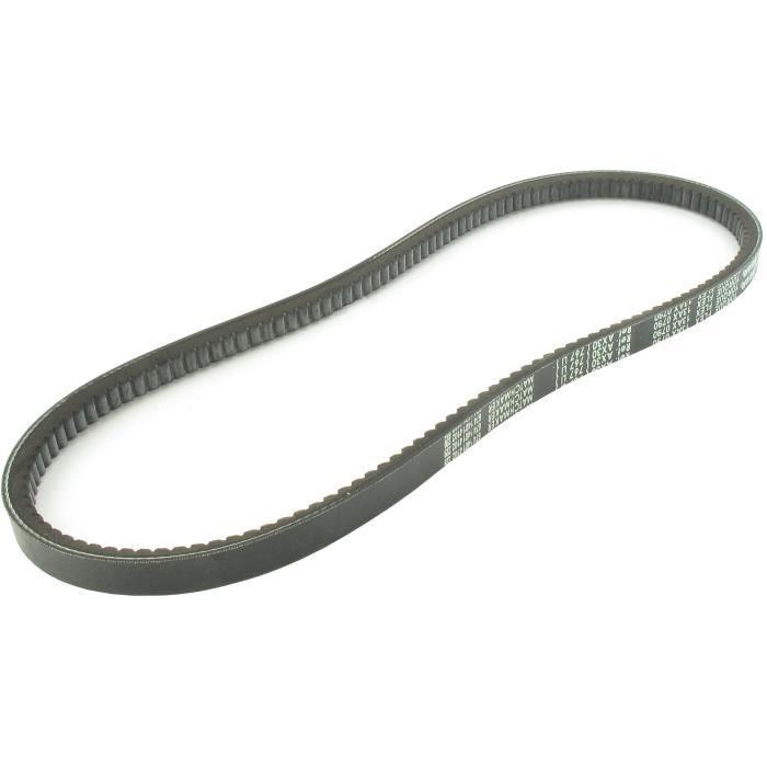 Courroie trapézoïdale crantée américaine série 4L (section 13x8mm) Longueur ext: 93-