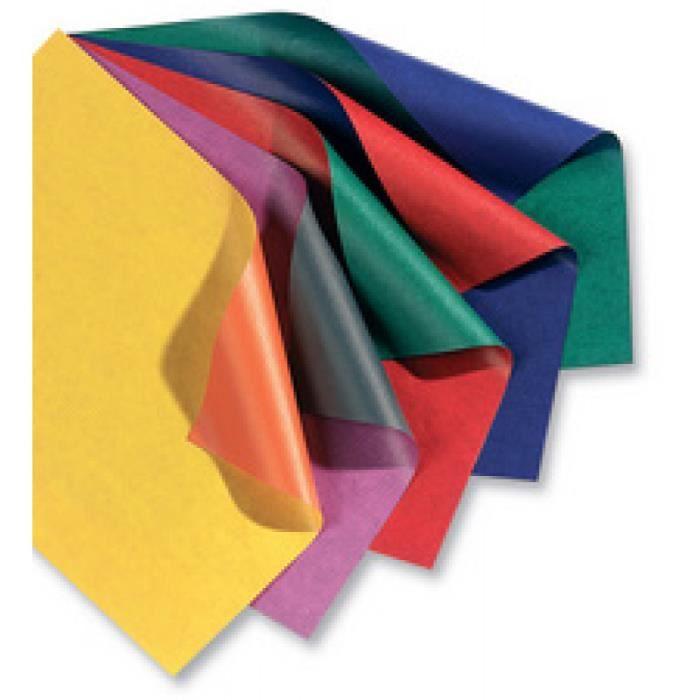 folia Papier cadeau -Bicolor- sur rouleau, bleu / rouge pur 0,000000 Noir
