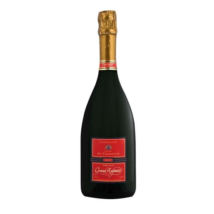 Champagne Charles de Cazanove Grand Apparat Brut - 75 cl