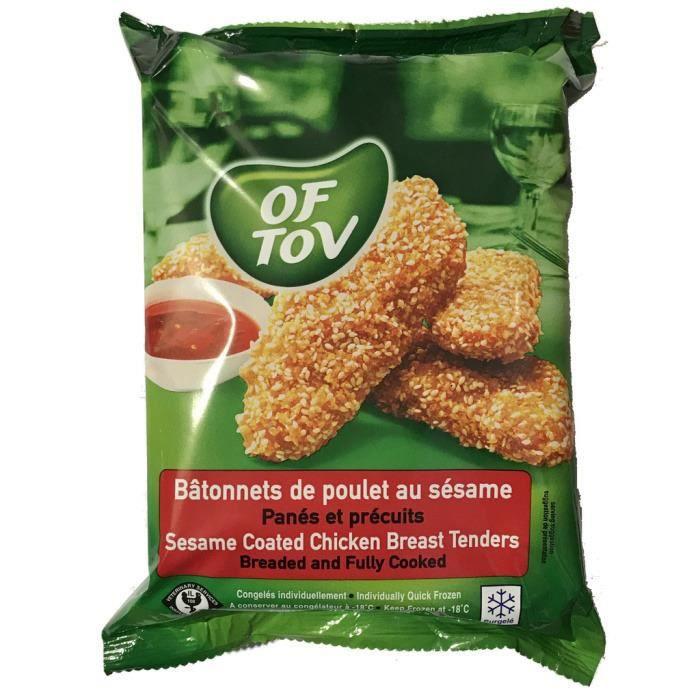 Bâtonnets de poulet au sésame 350 g OF TOV