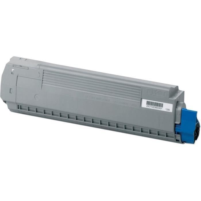Oki Cartouche toner 44059165 Compatible Mc851/Mc861 Jaune Standard 7.300 pages