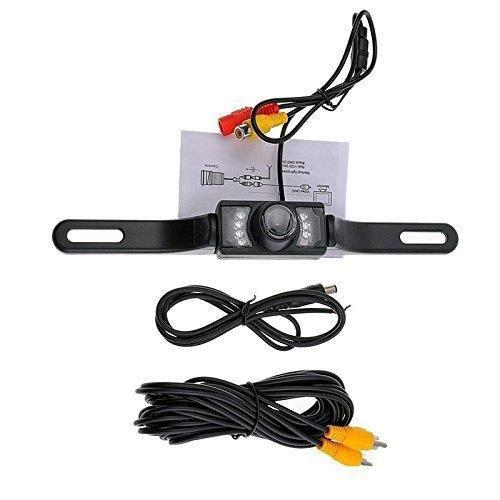 Caméra de recul de voiture, étanche IR LED vision nocturne caméra arrière, caméra de recul de stationnement de voiture