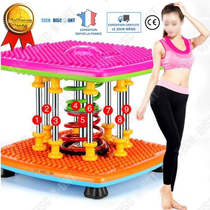 TD® Machine sport exercice affiner hanche stepper ventre cuisse Torsion perte de poids à la maison conditionnement physique maigrir