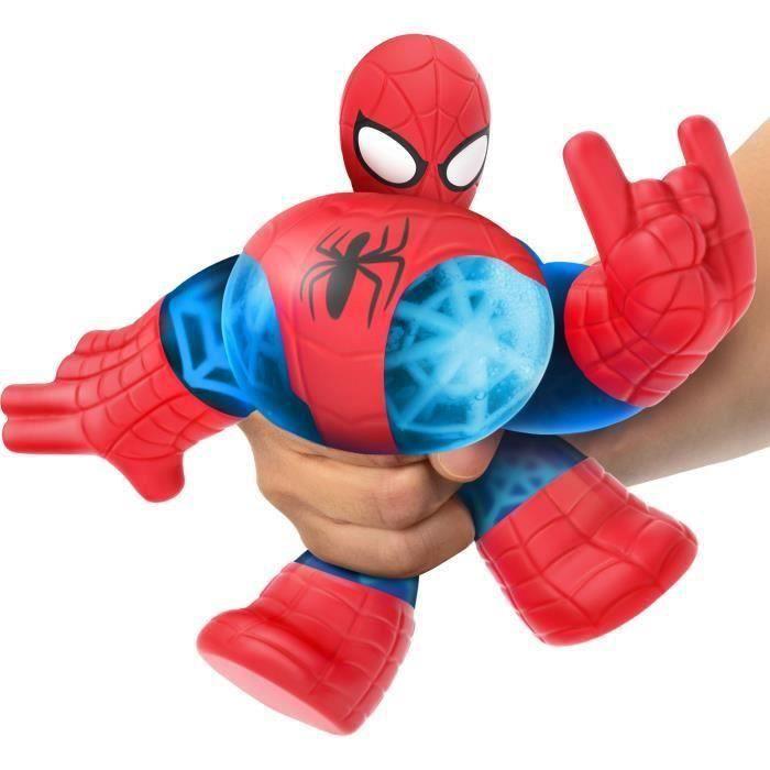 SHOT CASE - Goo Jit Zu Marvel - 41137 - Figurine 11cm Spiderman