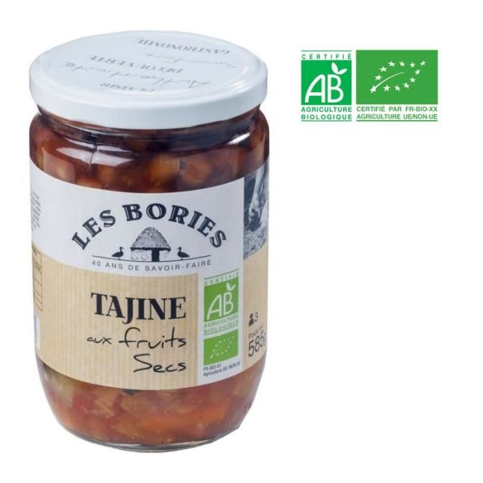 Tajine aux Fruits Secs Bio - 585 g