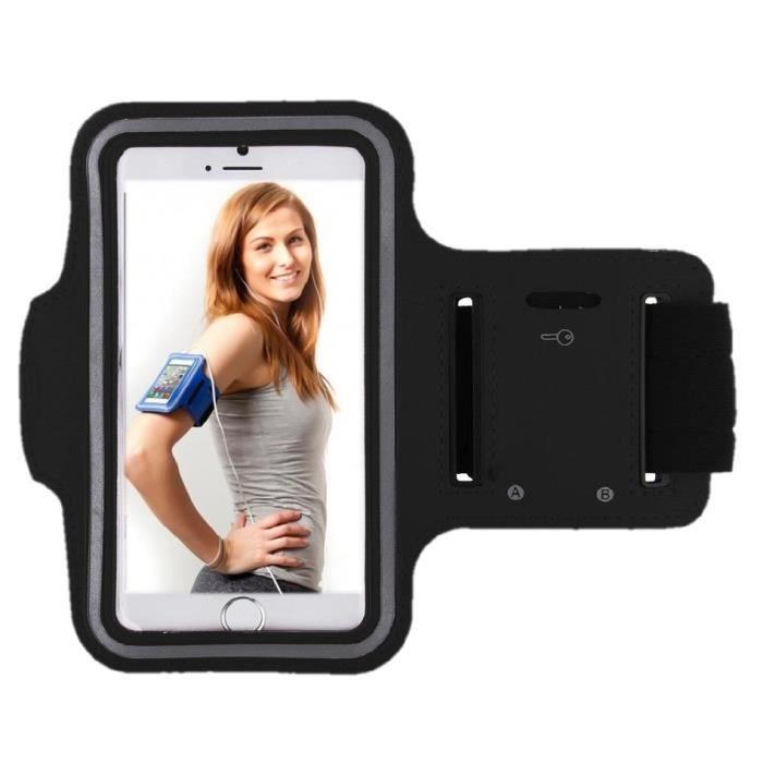 Blank L Gr/ün Brassard de Sport imperm/éable Housse de Protection pour Samsung Galaxy A6 avec Sortie Casque pour Fitness Jogging
