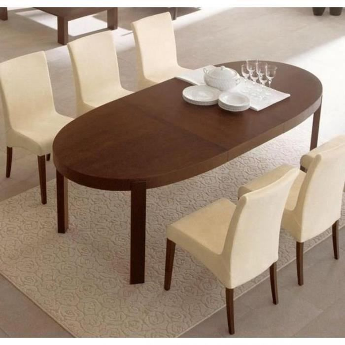 Table repas extensible ovale atelier de calligaris 170x100 for Table de sejour extensible