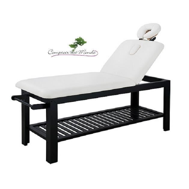 table de massage fixe en bois achat vente table de. Black Bedroom Furniture Sets. Home Design Ideas
