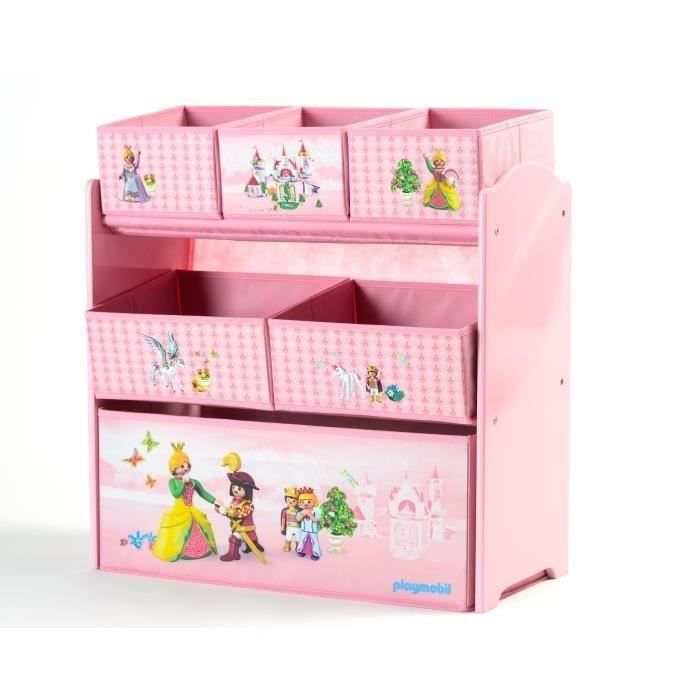 playmobil meuble de rangement enfant etag re casiers princesses achat vente petit. Black Bedroom Furniture Sets. Home Design Ideas