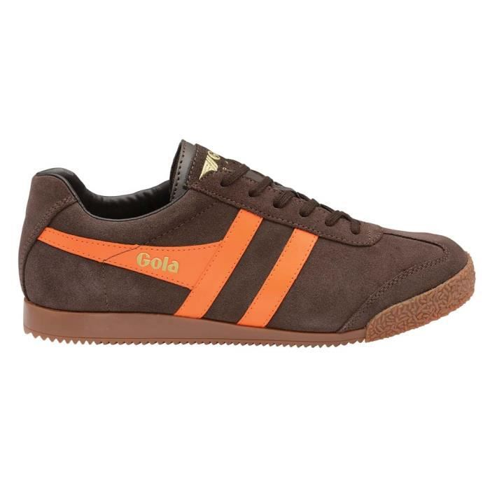 Chaussures femme Baskets Gola Harrier Suede feNoGdI