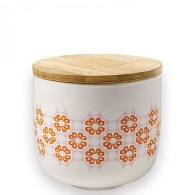 Pot en porcelaine fleurs oranges mr mrs clynk achat - Mr mrs clynk ...