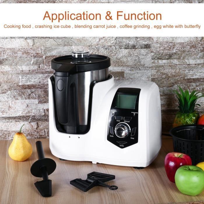 Robot Culinaire Multifonction 800w Machine A Cuisine Aliment