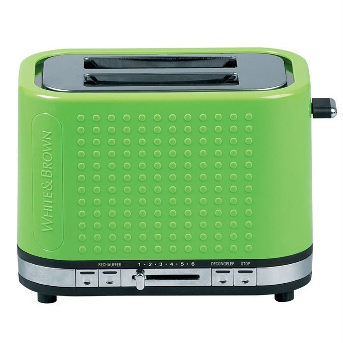 Grille-pain - Toaster White brown - Achat / Vente pas cher - Cdiscount