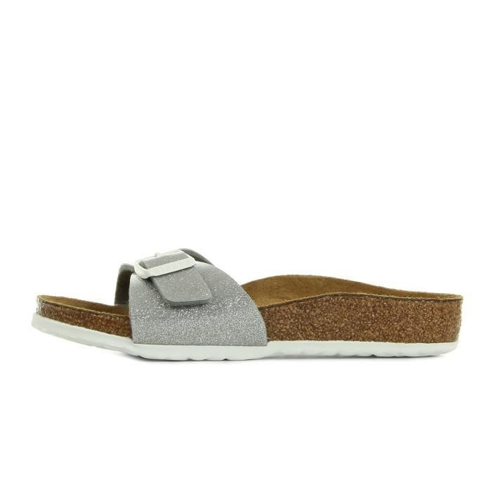Sandales Birkenstock Madrid Magic Galxy Silver r4z0AB