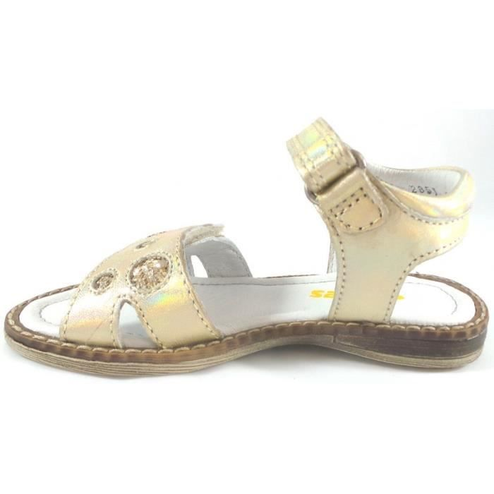 Stones And Bones Sandales Fille Or Scratch (29 - Fin - blanc) lw0lD8MuTM