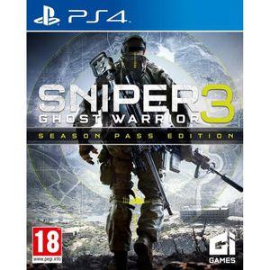 JEU PS4 Sniper Ghost Warrior 3 Season Pass Edition Jeu PS4