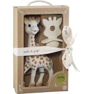 DOUDOU SOPHIE LA GIRAFE Coffret Natural Soother So pure -