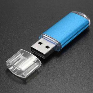 CLÉ USB 16 Go USB 2.0 Métal Mémoire Flash Mémoire Pouce U